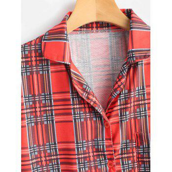 Tartan Pajamas Set - CHECKED S