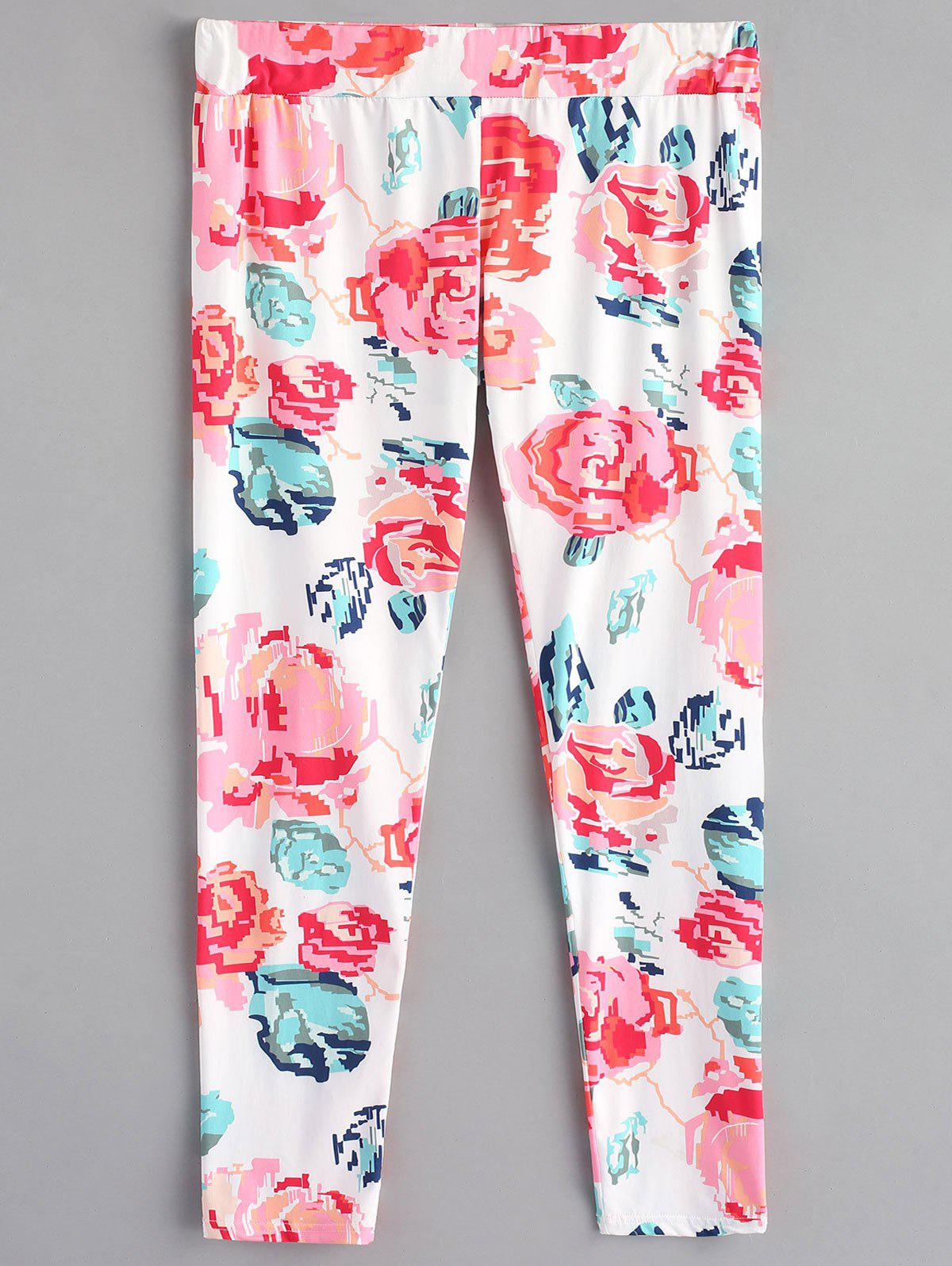 Flower Sleep Trousers - PINK M