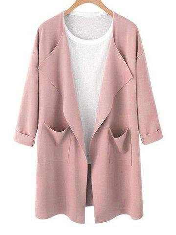 08be0d4a749a0 2019 Pink Trench Coat Online Store. Best Pink Trench Coat For Sale ...
