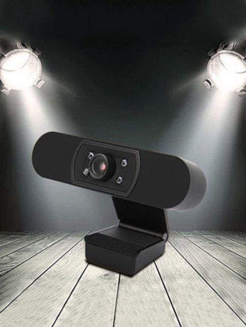 ASHU H800 1080P HDTV Video Calling with Built-in Microphone Camera - BLACK
