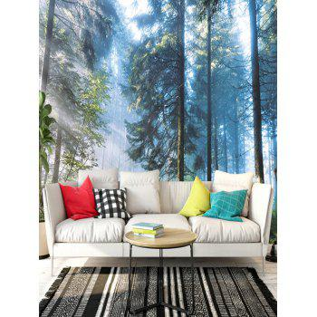 Grove Sunlight Pattern Removable Floor Decals - COLORMIX 5PCS:16*39 INCH