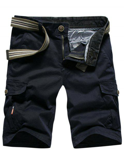 Outdoor Wear Lightweight Cargo Shorts - BLUE 38