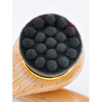Face Skin Care Tool Cleansing Brush - BLACK