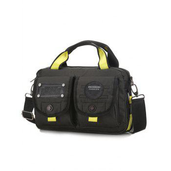 Multiple Purpose Casual Activities Crsossbody Bag - BLACK