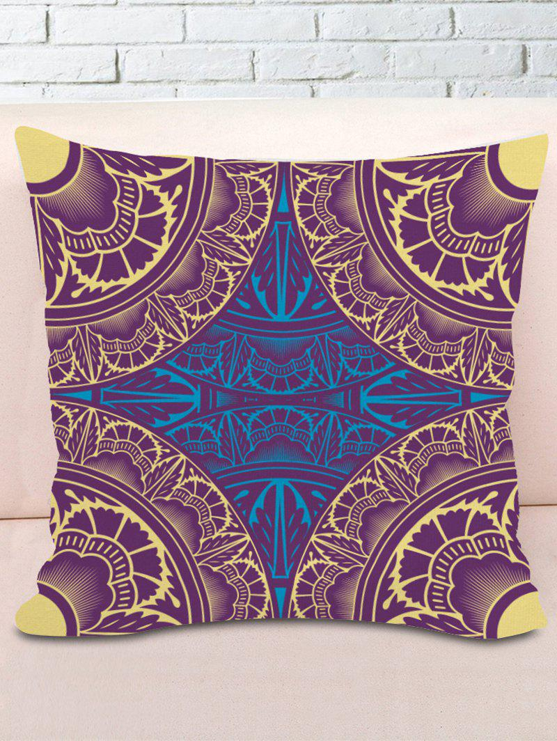 Patterned Decorative Sofa Pillowcase - COLORMIX W18 INCH * L18 INCH
