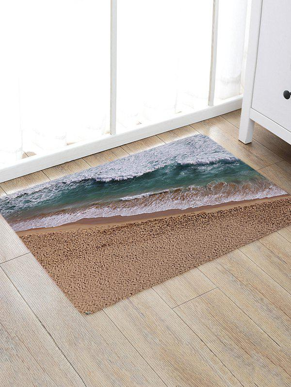 Seabeach Printed Indoor Outdoor Area Rug, Colormix
