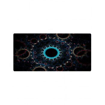 Circle Print Anti-skid Floor Area Rug - COLORMIX W16 INCH * L47 INCH
