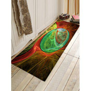 Colorful Pattern Anti-skip Floor Area Rug - COLORMIX W24 INCH * L71 INCH