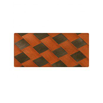 Color Block Pattern Anti-skid Floor Area Rug - COLORMIX W16 INCH * L47 INCH