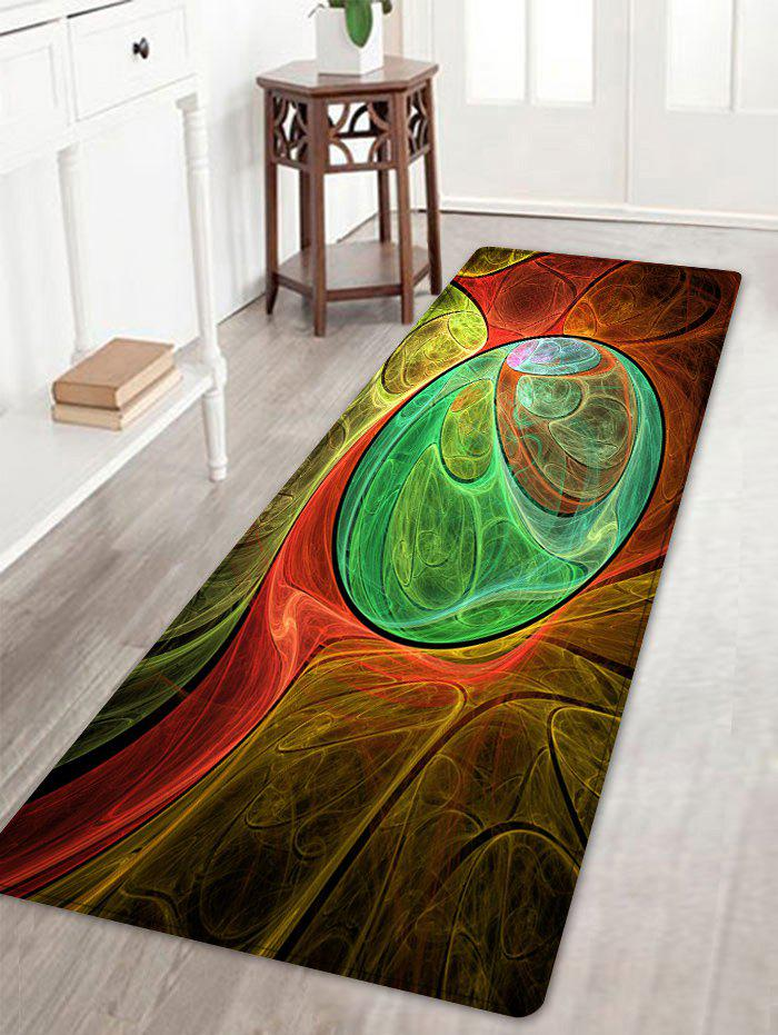 Colorful Pattern Anti-skip Floor Area Rug - COLORMIX W16 INCH * L47 INCH