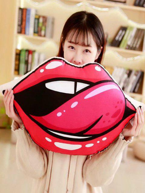 Lip Pattern Soft Throw Pillow - COLORMIX 80*40CM