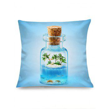 Wishing Bottle Printed Pillowcase - CLOUDY W18 INCH * L18 INCH