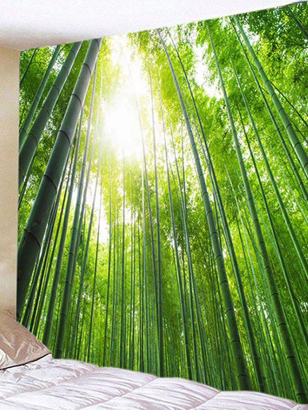 Wall Hanging Art Bamboo Forest Print Tapestry bamboo print wall art tapestry