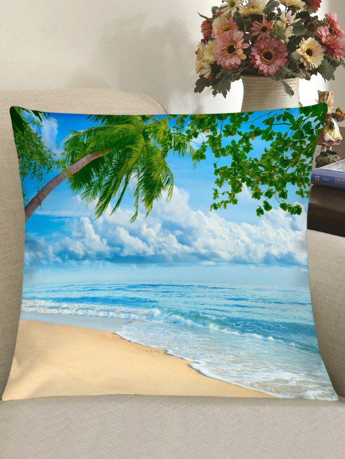 Summer Seaview Theme Sofa Pillowcase - CLOUDY W18 INCH * L18 INCH