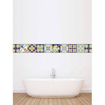 Vintage Waterproof Kitchen Tile Stickers - COLORMIX 4*4 INCH