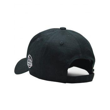 Unique EAGLES Embroidery Baseball Hat - BLACK