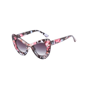 Stylish Full Frame Sun Shades Driver Sunglasses - WATERMELON PINK
