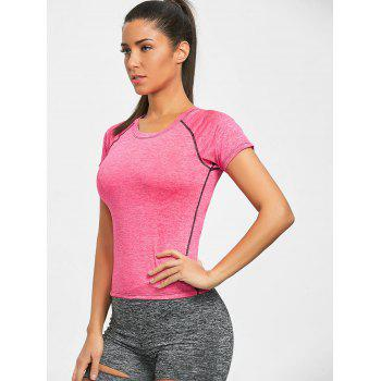 Heather T-shirt - PINK S