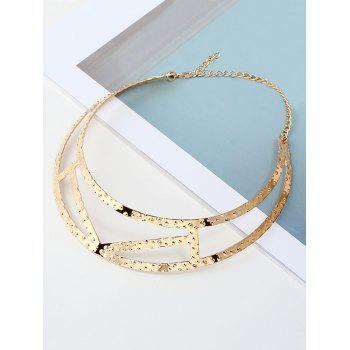 Simple Geometric Necklace - GOLDEN