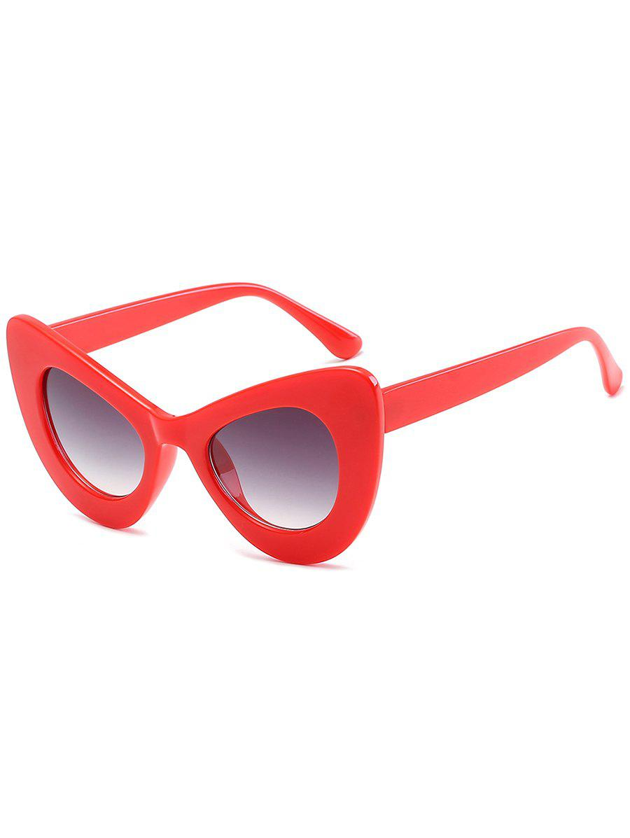 Stylish Full Frame Sun Shades Driver Sunglasses - BRIGHT RED
