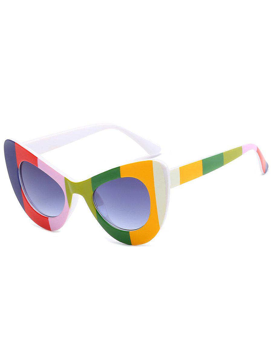 Stylish Full Frame Sun Shades Driver Sunglasses - COLORFUL
