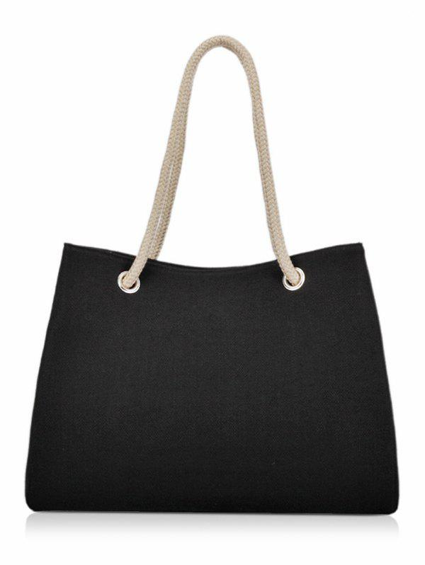 Large Capacity Work Tote Bag - BLACK