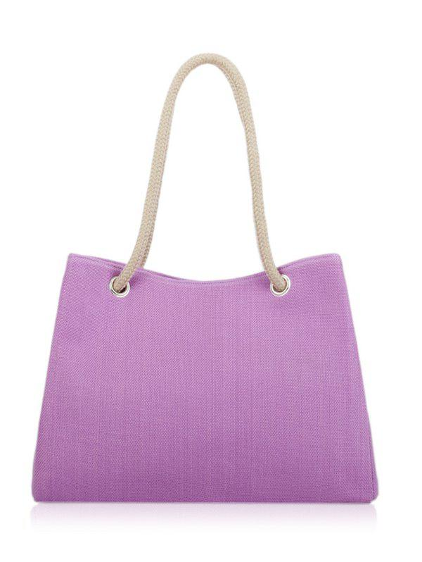 Large Capacity Work Tote Bag - PURPLE