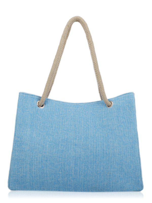Large Capacity Work Tote Bag - SKY BLUE