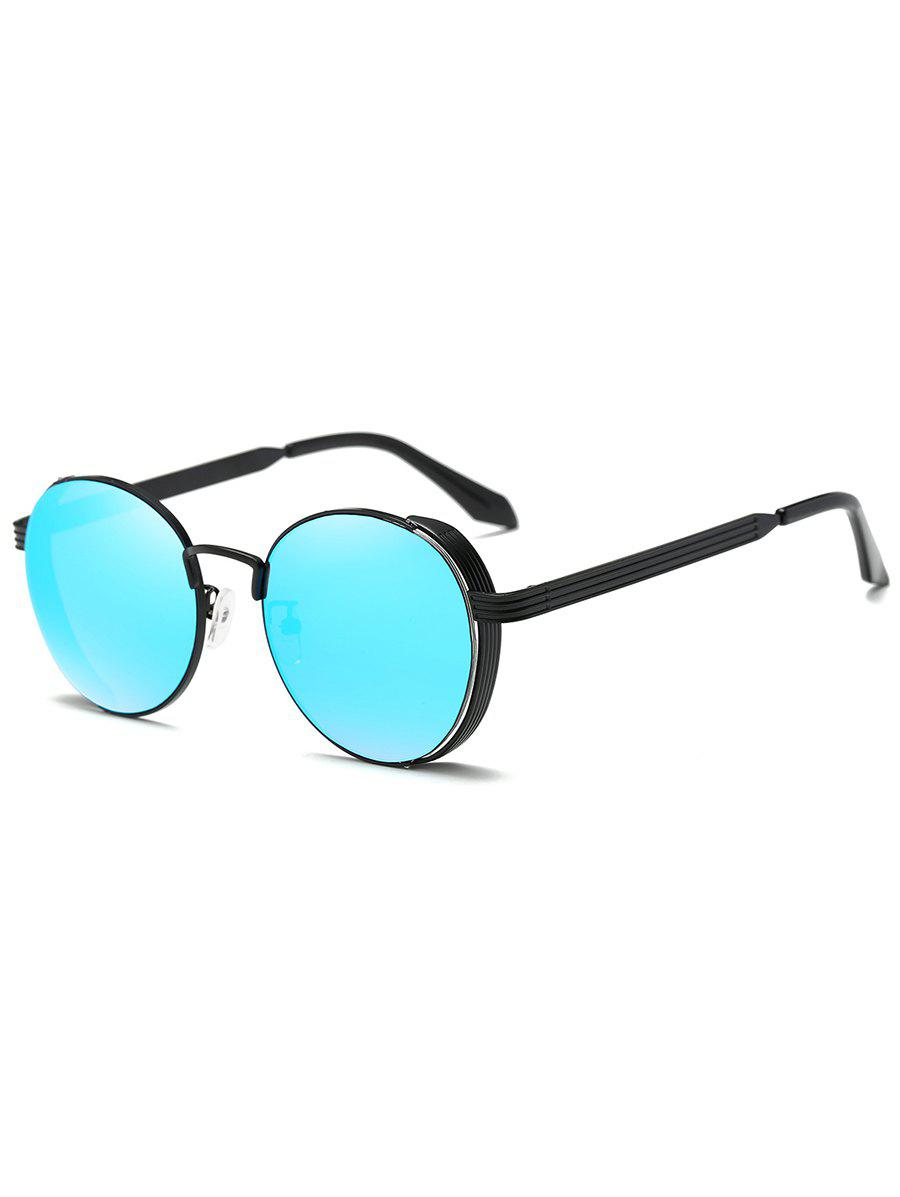 Statement Metal Hollow Out Circle Sunglasss