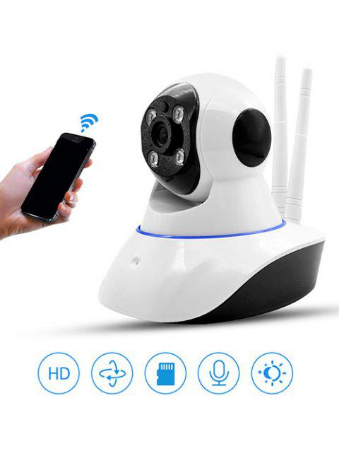 Double Antenna Smart IP Camera - WHITE ANTENNA CAMERA WITH 16G MEMORY CARD