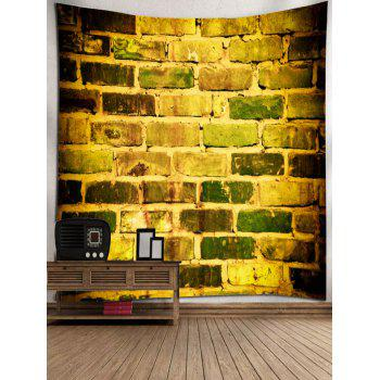 2018 Decorative Brick Wall Printed Wall Hanging Decor Tapestry ...