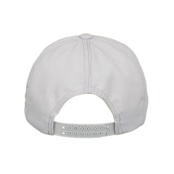 Made in Heaven Embroidery Sun Hat - GRAY GOOSE