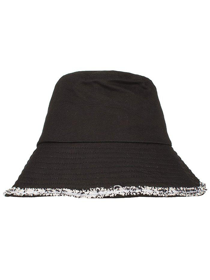Wide Brim Fringed Beach Summer Sun Hat summer can be folded anti uv sun hat sun protection for children to cover the sun with a large cap on the beach bike travel