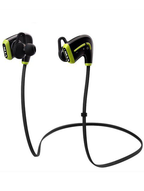 Vtin Bluetooth Sweatproof Earphone with Mic Stereo Wireless - BLACK
