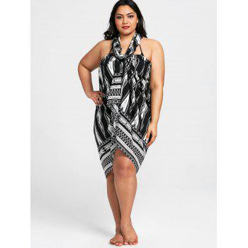 Convertible Tribal Print Cover-up - COLORMIX 4XL