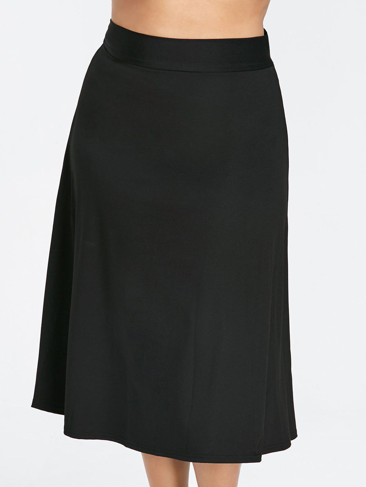 High Waisted Plus Size Midi skirt high waisted bodycon midi skirt