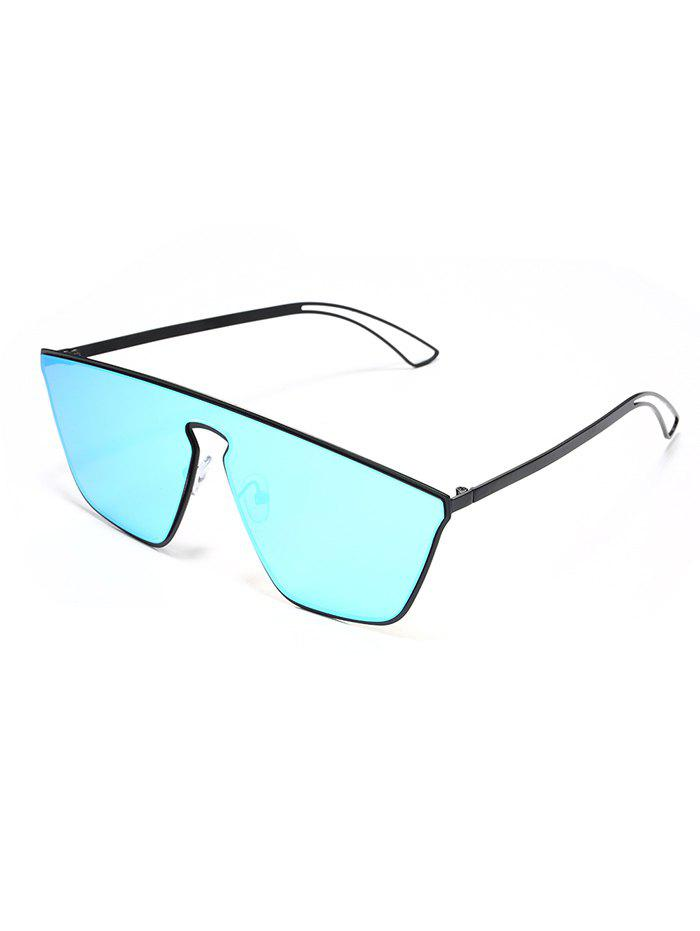 Anti UV One Piece Shield Sunglasses - DEEP SKY BLUE