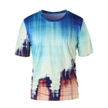 Ink Painting Summer T-shirt - COLORMIX M