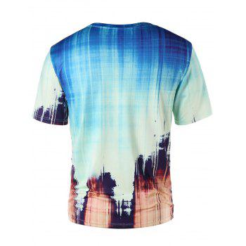 Ink Painting Summer T-shirt - COLORMIX XL