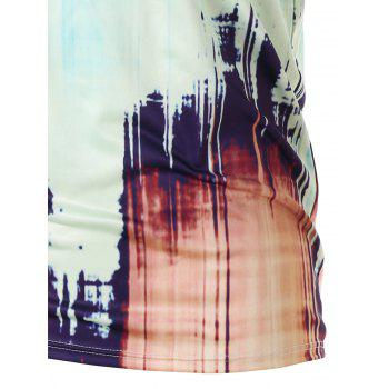 Ink Painting Summer T-shirt - COLORMIX 2XL