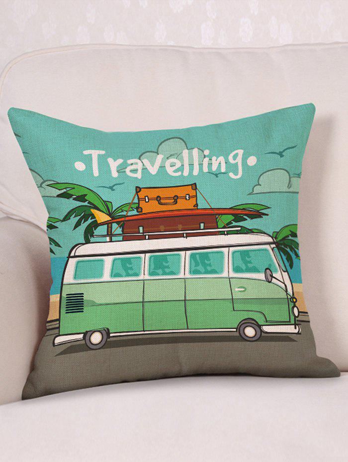 Motor Home Travelling Print Linen Sofa Pillowcase 185 65r15 88h te301 m s