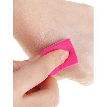 Triangle Shaped Makeup Sponge Puffs - RED