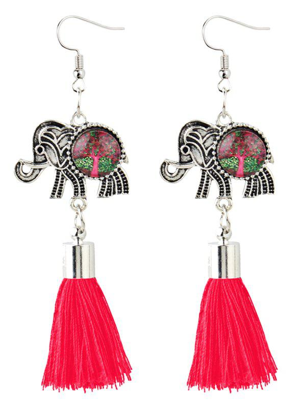 Unique Bohemian Elephant Tassel Dangle Earrings for bmw x3 f25 stainless rear trunk lid molding cover trim 2011 2015 1pcs