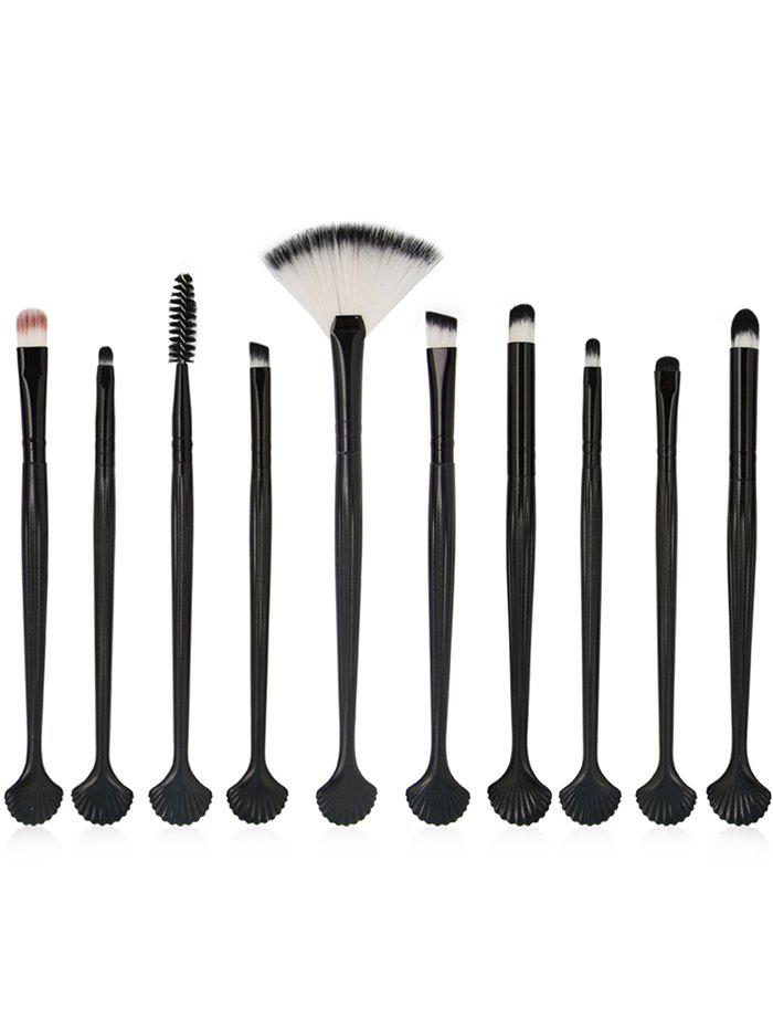 10Pcs Shell Shape Eyeshadow Eyebrow Blending Eye Makeup Brush Set 8pcs beauty makeup brushes set eyeshadow blending brush powder foundation eyebrow lip cosmetic make up tools pincel maquiagem