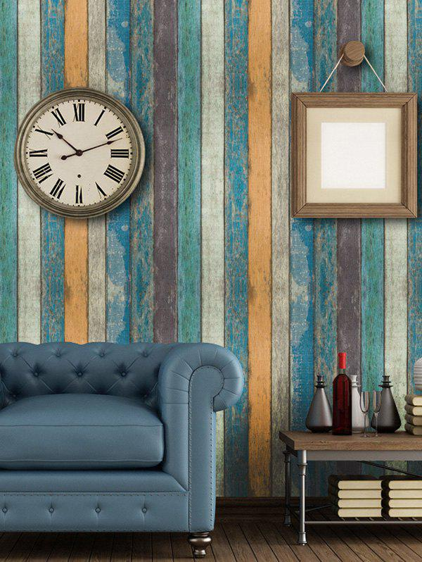 Wall Decoration Retro Wood Grain Printed Wall Sticker vintage faux reclaimed old brown hard wood photo backdrop vinyl cloth high quality computer printed wall backgrounds for sale
