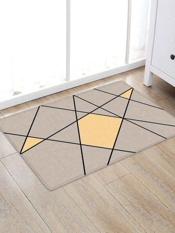 Lines and Colors Pattern Anti-skid Floor Area Rug sand shell starfish pattern floor area rug