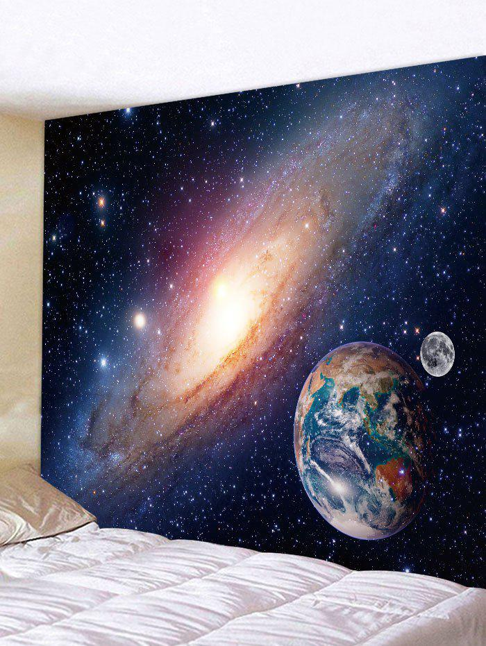 Galaxy Planet Print Tapestry Wall Art wall hanging art earth planet print tapestry