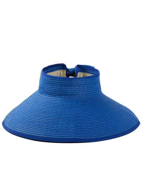 Solid Color Hollow Out Foldable Straw Hat кеды playtoday