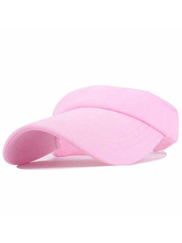 UV Proof Flexible Air Top Sunscreen Hat - PIG PINK