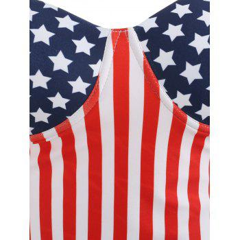 Cami Strap Stars and Stripes Tankini - COLORMIX M